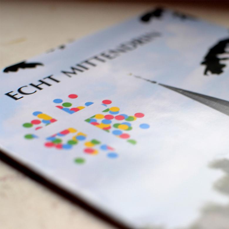 Werbeagentur Schell-Wald Design Grafik- und Webdesign echt mittendrin titel