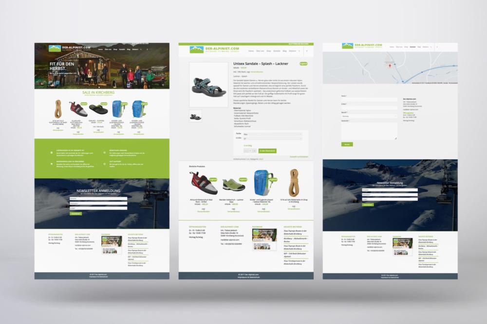 Schell-Wald Design Grafik- und Webdesign alpinist portfolio